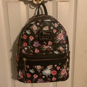 Loungefly Alice in wonderland mini backpack